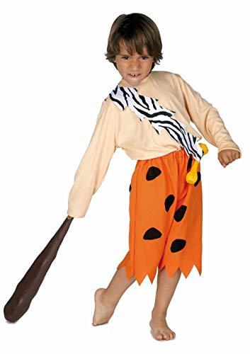 Disfraz cavernícola infantil. Talla 6.