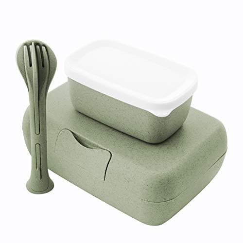Koziol Lunch Box Set + Cutlery Set Candy Ready