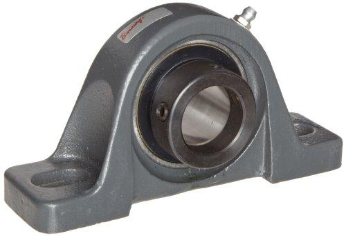 Browning vple-220Pillow Block Kugellager, 2Bolzen, Exzenter Lock, Kontakt und Flinger Seal, Gusseisen, Zoll, 1–1/10,2cm Bohrung, 1–13/40,6cm Boden zu Center Höhe