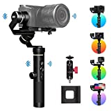 FeiyuTech Feiyu G6 Plus 3-Axis Handheld Gimbal Stabilizer with LCD Touch Panel Compatible with GoPro Hero Series of Action Camera/Smartphones/Mirrorless Cameras/Pocket Cameras, MAX Payload 1.75LB