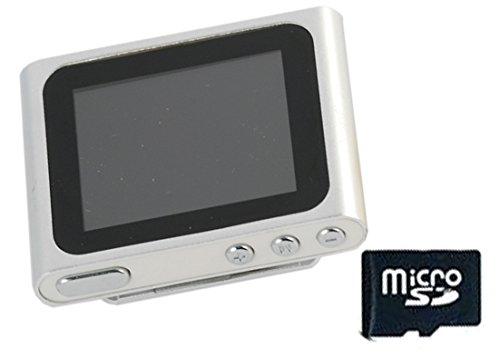 Xtreme 27702S Lettore MP 4/MP 3 con Schermo da 1.8', Completo di MicroSD da 8 GB, Cavo Dati e Auricolare