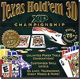 Brand New Selectsoft Publishing Texas Hold'em 3d Xp Championship Choose From 75+ Poker Opponents