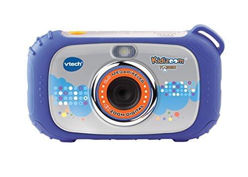 VTech - Cámara, Kidizoom Touch, Color Azul (3480-145022)