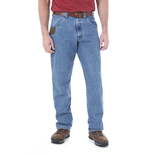Wrangler Riggs Workwear Cool Vantage Five Pocket Jean Uomo - blu - 62W x 34L