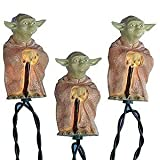 Kurt Adler Star Wars Yoda Party Light Set