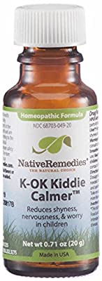 Native Remedies K-OK Kiddie Calmer Pillules, 20 Grams