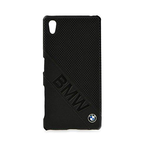 BMW BMHCSZ5LDLB Hard Hülle Logo Imprint Signature Collection für Sony Xperia Z5, Blister schwarz
