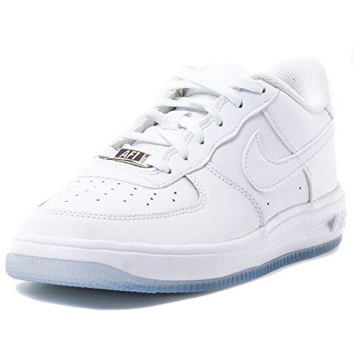 Nike Jungen Lunar Force 1 '16 (GS) Basketballschuhe, Weiß, Weiß, Weiß, Weiß, 36.5 EU