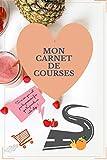 Mes listes de courses: Carnet de notes -15,24*22,86 cm- 52 pages-journal des courses - cadeaux - lamalight édition (French Edition)
