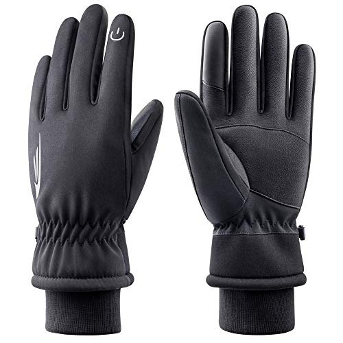 RIVMOUNT Winter Gloves Men WomenWaterproof Touch Screen Gloves Warm Ski Gloves Windproof Thermal Gloves 605