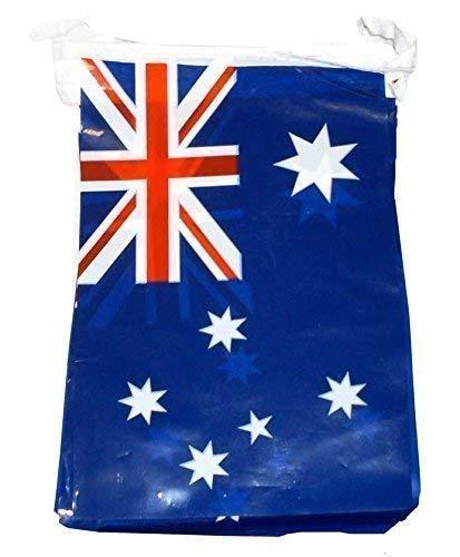 Henbrandt 36Ft Australische Fahnen PVC Wimpel Australia Day Party Dekoration