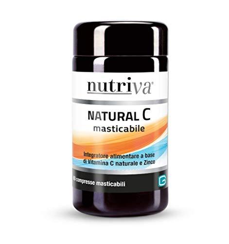 NUTRIVA NATURAL C MASTICABILE 60 CPR DA 1000MG