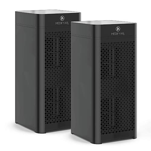 Medify MA-40 Air Purifier with H13 True HEPA Filter | 840 sq ft Coverage | for Smoke, Smokers, Dust,...