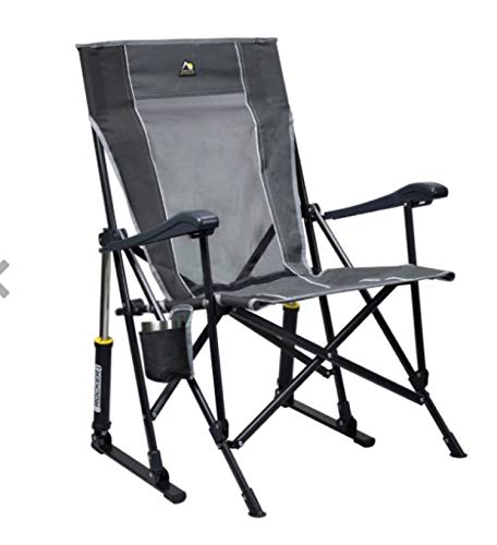 GCI Roadtrip Rocking Chair Outdoor (Mercury Gray/Pewter)