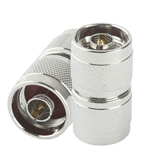 CWTIAN Antennenadapter N-JJ N-JJ Adapter/N Mal Doppelpass (N-JJ) (Silber), Excellent Workmanship