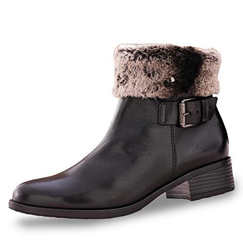 GABOR 3276657 Enkellaarzen/Low boots dames Zwart Laarzen