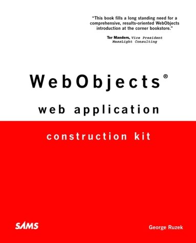Webobjects Web Application Construction Kit