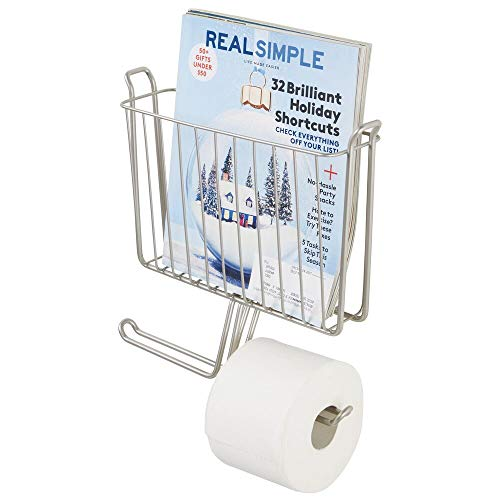 Top 10 best selling list for toilet paper and magazine holder brushed nickel