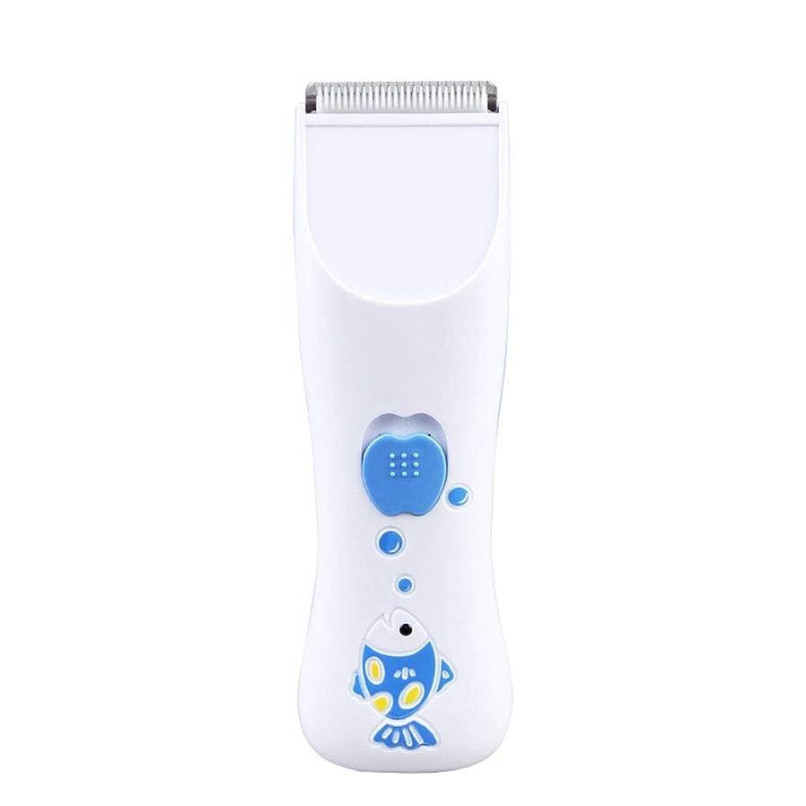 誤解商品圧倒的ヘアトリマー 子供のための再充電可能な家の毛の打抜き機は人のための男の子の赤ん坊のバリカンを専門にします ヘアトリマー (色 : 白, サイズ : 14.5*4.5cm)
