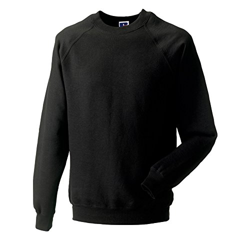 Russell Classic Sweatshirt Black Medium