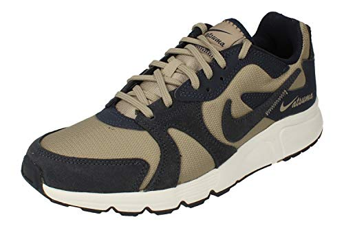 Nike Atsuma Hombre Trainers CD5461 Sneakers Zapatos (UK 9 US 10 EU 44, Enigma Stone Obsidian White 008)