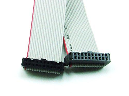 POPESQ® - IDC Kabel/Cable 20 polig (2x 10) cca. 30 cm/0.3m lang/long #A586