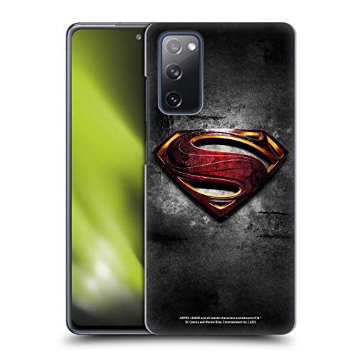 Head Case Designs Officially Licensed Justice League Movie Man of Steel Superman Logo Art Hard Back Case Compatible with Samsung Galaxy S20 FE / 5G