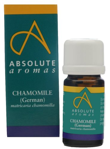 Absolute Aromas Huile Essentielle de Camomille Allemande 2ml - 100% pure, naturelle, non diluée, sans cruauté envers les animaux et végétalienne
