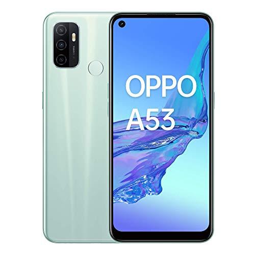 Oppo A53 – Pantalla de 6.5' (Neo-Display de 90Hz, 4GB/64 GB, Snapdragon 460, 5000mAh, Carga Rápida 18W, Triple Cámara con...