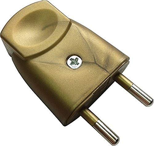 Dio dio043055enchufe macho 2polos color oro envejecido