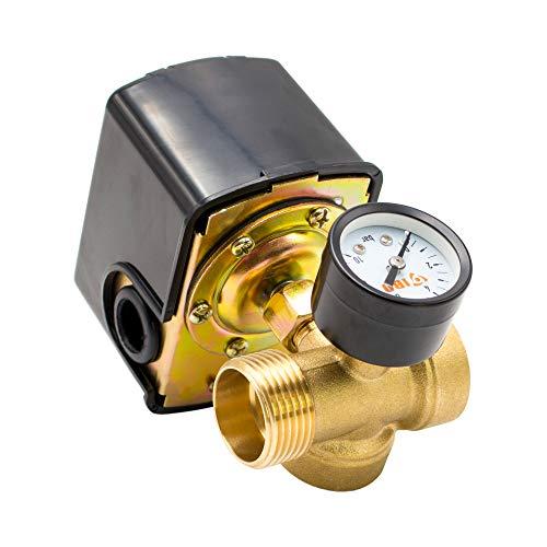 Hauswasserwerk Druckschalter SET 3 tlg. 1/4' IG Pumpensteuerung Druckwächter AM-SK2-3