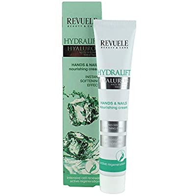 Revuele Hands & Nails Nourishing Cream Hydralift Hyaluron Anti-Wrinkle Treatment from Revuele