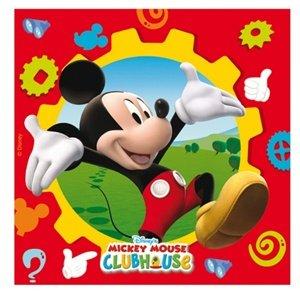 Amscan Serviettes de Table Motif Mickey Club House