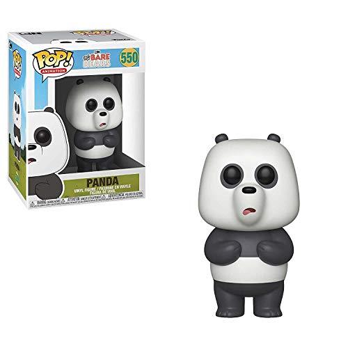 Funko- Pop Vinyl: We Bare Bears: Panda Animation Figura da Collezione, Multicolore, 37772