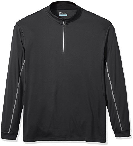 Affordable PGA TOUR Men's Big and Tall Big & Tall Elements Wr Long Sleeve 1/4 Zip Pullovers