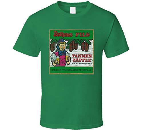 N/Y Rothaus Pils - Camiseta para amantes de la cerveza (texto en inglés), color...