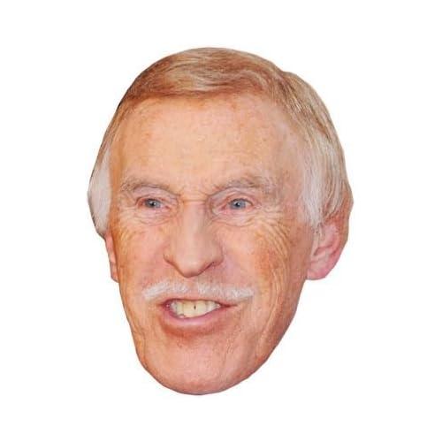 /Single Bruce Forsyth Celebrity Party Mask/ Mask//Headpiece
