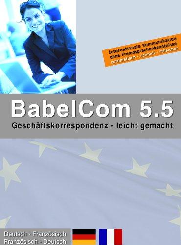 BabelCom 5.5 Personal Deutsch-Französisch  (PC+M