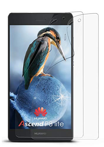 MoEx® Huawei P8 Lite 2015 Schutzfolie Matt Bildschirm Schutz [Anti-Reflex] Screen Protector Fingerprint Handy-Folie Matte Bildschirmschutz-Folie für Huawei-P8 Lite 2015 Bildschirmfolie, 2X Stück