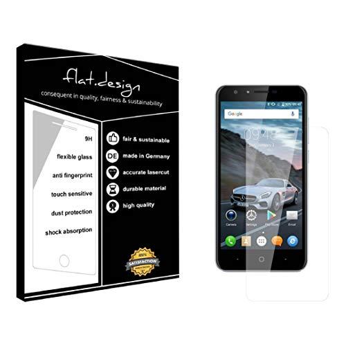 1x Bildschirm Schutz für Doogee Y6C Screen Bildschirmschutz Schutzfolie kristallklar Flexible Folie, robust wie Glas. Qualität, Nachhaltigkeit und Fairness Made in Germany