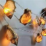 Led-Weihnachtsdekorative Gebürtige Ozean-Tritonshorn-Schnur Beleuchtet, Wasserdichtes Ozean-Tritonshorn-Licht Für Garten-Wand-Schlafzimmer-Rasen-Weihnachtsdekorations-Lampe