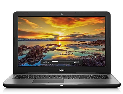 Dell Inspiron 15 5000 15.6 HD Laptop (Black) AMD A6-9200 Processor with Radeon R4 Graphics, 8 GB RAM, 1 TB HDD, Windows Home