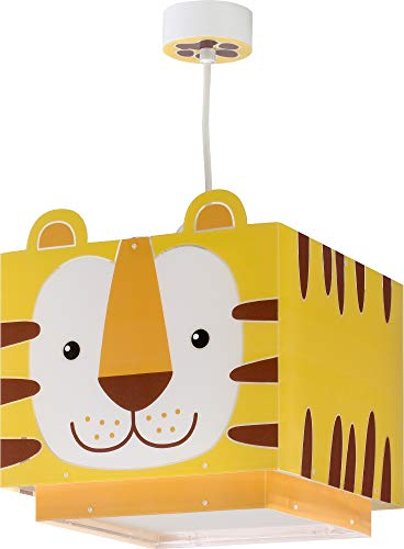 Dalber kinderlampe Pendelleuchte Hängelampe Little Tiger Tiere, Gelb