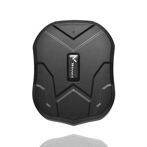 Winnes GPS Auto Localizzatore GPS Tracker 3 Mesi Standby 5000 MAh Batterie Impermeabile Localizzatore Gps In Tempo Reale Per Auto Veicolo Con Forte Magnete TK905 APP Gratuito