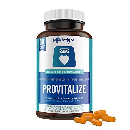 Original Provitalize | Natural Menopause Probiotics for Weight Gain, Hot Flashes, Night Sweats, Low Energy, Mood Swings, Gut Health. Unique Probiotics Formula