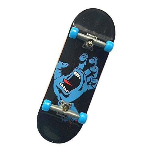IPOTCH Mini Diapasón Patineta de Dedos Profesional Fingerboard Finger Skateboards Regalo de Cumpleaños para Niños - #B