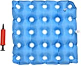 TURNSOLE Wheelchair Cushions for Seniors Pressure Relief, 18x18 Inflatable Seat Cushion for Tailbone Pain Relief,Bedsore Cushion for Butt in Chair
