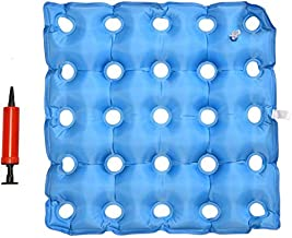 TURNSOLE Waffle Cushion Pressure Relief for Seniors - Wheelchair Cushions for Pressure Sores for Sitting - Inflatable Coccyx Air Seat Cushion to Relief Back & Tailbone Pain