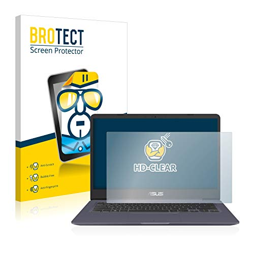 BROTECT Schutzfolie kompatibel mit Asus VivoBook S14 S406UA klare Bildschirmschutz-Folie