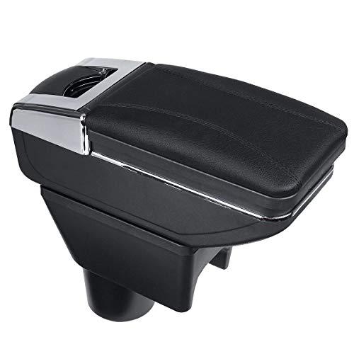 Reposabrazos central para Coche, For accesorios de coches Dacia Duster coche Accesorios Terrano coche apoyabrazos central Caja de almacenamiento Consola Accesorios para interiores del coche